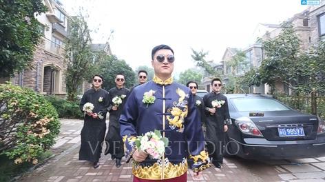 唯久影视( V9film )作品「希尔顿婚礼快剪」 广州行