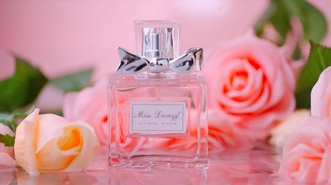 迪奥花漾女士香水广告短片