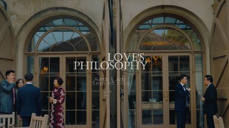 Love's Philosophy / 英国婚礼